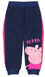E plus M Dievčenské tepláky Peppa Pig - tmavo modré, 116 cm