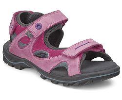 Ecco Dievčenské sandále - ružové, EUR 25