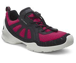 Ecco Dievčenské tenisky - ružovo-čierne, EUR 27