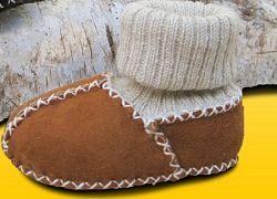 Eisbärchen Detské topánočky s nápletom - béžové