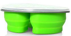 Eldom TM-10 Silikónový skladací Lunchbox, zelený