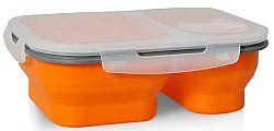 Eldom TM-20 Silikónový skladací Lunchbox, oranžový
