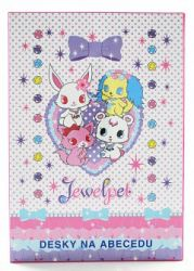 EP Line Jewelpet dosky na abecedu