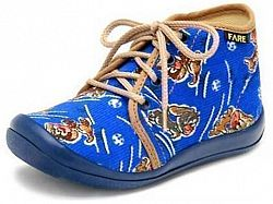 Fare Chlapčenské členkové papučky - modré, EUR 28