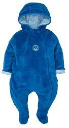 G-mini Chlapčenský hrejivý overal Autíčka - modrý, 80 cm