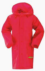 G-mini Dievčenská pláštenka Sidney - červená, 98 cm