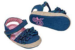 G-mini Dievčenské capáčky s volánmi - modré, EUR 20
