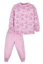 G-mini Dievčenské pyžamo Macko - ružové, 80 cm