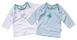 Gelati Chlapčenská súprava 2 ks tričiek Home - zelená, 74 cm