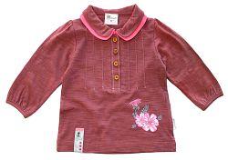 Gelati Dievčenské tričko s gombíkmi, 98 cm