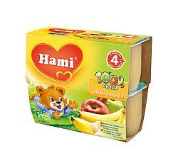 Hami 100% ovocia jablko, banán 6x400g