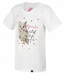 Hannah Detské tričko so sovou Tweety JR - biele, 116 cm