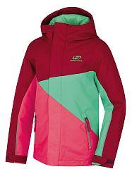 LOAP Dievčenská juniorská lyžiarska bunda Akim 0485f7dec63