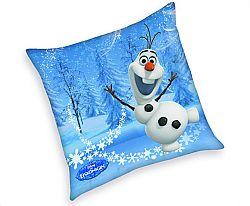 Herding Dekoratívny vankúš - Frozen Olaf, 40x40 cm