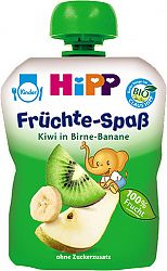 HiPP BIO Hrušky-Banán-Kiwi 90g