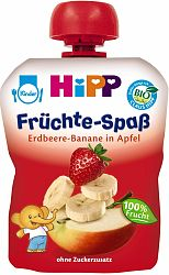 HiPP BIO Jablko-Banán-Jahoda 90g