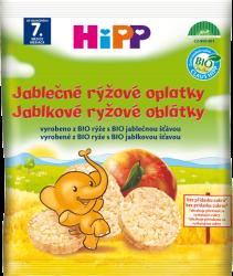 HiPP BIO Jablkové ryžové oblátky