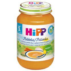 HiPP BIO Kuracie polievka s pšeničnou krupicou 6x190g