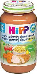 HiPP BIO Zelenina s cestovinami a kuracím mäsom 6x220g