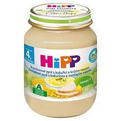 HiPP BIO Zemiakové pyré s kukuricou a morčacím mäsom 6x125g