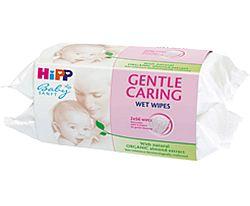 HiPP Detské čistiace vlhčené obrúsky 2x56ks