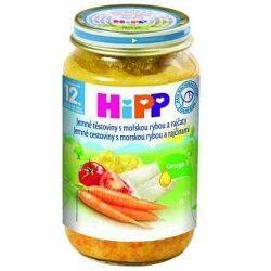 HiPP Jemné cestoviny s morskou rybou a paradajkami 6x220g