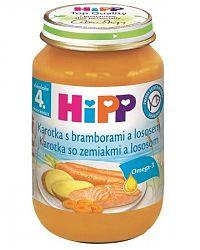 HiPP Karotka so zemiakmi a lososom 6x190 g