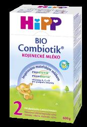 HiPP Pokračovacie MKV 2 BIO Combiotik 4x600g - NOVINKA