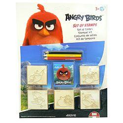 HM Studio Pečiatky Angry Birds, blister 5 ks