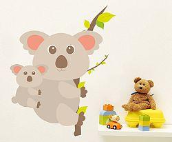 Housedecor Samolepka na stenu Koala a mláďa