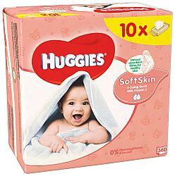 Huggies wipes Soft Skin 10x56ks