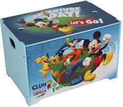 JNH Detská truhla Mickey Mouse - modrá
