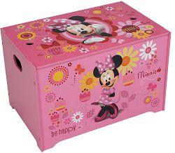JNH Detská truhla Minnie - ružová