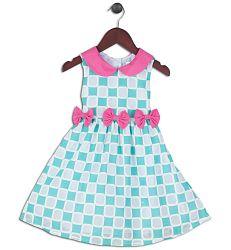 Joe and Ella Fashion Dievčenské šaty Cynthia - zeleno-ružové, 86 cm