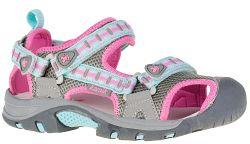 Kamik Dievčenské sandále - ružovo-šedé, EUR 33