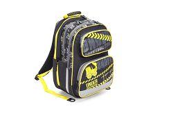Karton P+P Anatomický batoh Ergo Kids - čierno-žltý - Tractor