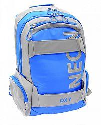 Karton P+P Anatomický batoh OXY Neon - modrý
