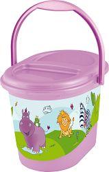 Keeeper Kôš na plienky Hippo, fialový