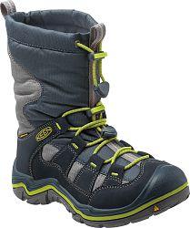 Keen Chlapčenská zimná obuv Winterport II WP - tmavo modrá, EUR 34