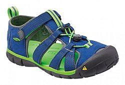 Keen Chlapčenské sandále Seacamp II CNX INF, true blue / jasmine green, EUR 19