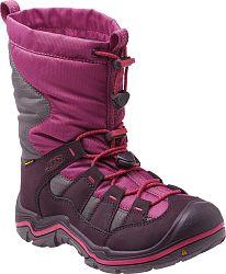 Keen Dievčenská zimná obuv Winterport II WP - fialová, EUR 27/28