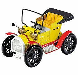 KOVAP Dedko automobil perový strojček kov 13 cm