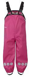 Kozi Kidz Dievčenské nepromokované nohavice Koster - ružové, 130 cm
