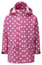Kozi Kidz Dievčenský kabát do dažďa Kappa - ružový, 130 cm