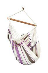 La Siesta Hojdacia sedačka Caribena - purple