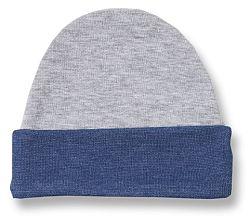 Lafel Chlapčenská čiapka Dino - šedo-modrá, 56 cm