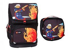LEGO Bags City Fire Large - školská aktovka, 2 dielny set