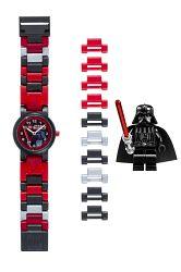 LEGO® Detské hodinky Star Wars ™ Darth Vader - červeno-čierne