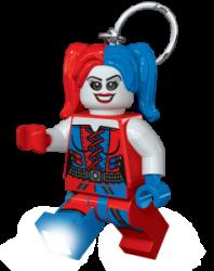 LEGO® LED Lite Detská svietiaca figúrka DC Super Heroes Harley Quinn - červeno-modrá