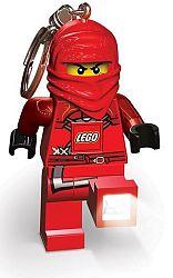 LEGO® LED Lite Detská svietiaca figúrka Ninjago Kai - červená